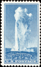 1934 5c Yellowstone National Park Scott 744 Mint F/VF NH - $2.07