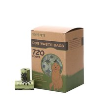 Dog Waste Bags Thick and Strong Poop Bags for Dogs Guaranteed Leak Proof... - $18.00