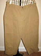 Beautiful Khaki Beige Capri Pants by Liz Claiborne Size 16 Nice! #T909 - $16.99