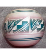 Hozoni Pottery Hand Painted By Native American Artists Artist Signed Ell... - $88.00