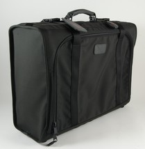 Tumi Black Canvas Suitcase Luggage Classic Style 23.5 x 17 x 9 New - $65.00
