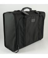 Tumi Black Canvas Suitcase Luggage Classic Style 23.5 x 17 x 9 New - $65.00