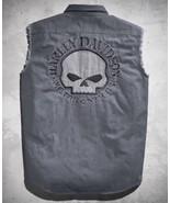 Harley Davidson Men's Sleeveless Skull Blowout Willie G  Shirt  NEW!! - $85.00