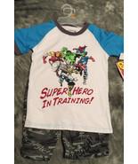 Marvel Super Heros Kids Shirts and Shorts Combo Spiderman Avengers Hulk,... - $29.97