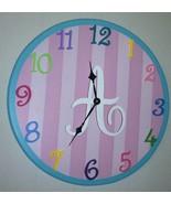 Nursery Clock, Child's Clock- CUSTOMIZABLE - $69.95