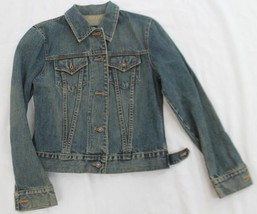 GAP SIZE SMALL DENIM BUTTON UP WOMENS JEAN JACKET S - $29.70