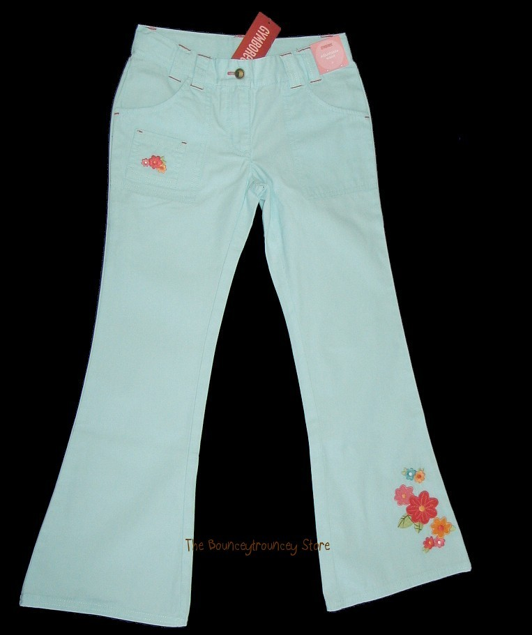 NWT Gymboree TROPICAL GARDEN Flower Pants Fish Top Sz 8
