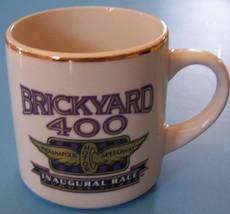 CERAMIC MUG BRICKYARD 400 1994 Indianapolis Motor Speedway COFFEE CUP MUG  - $3.47