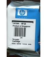 Genuine HP #28 Ink Cartridge - $5.34