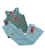 NWT Gymboree TROPICAL GARDEN Flower Pants Fish Top Sz 8 - $24.99