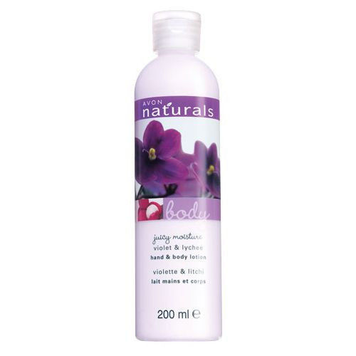 Avon Naturals Violet & Lychee Body Lotion 200 ml  New Discontinued