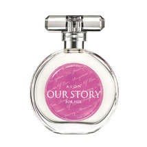 AVON Our Story for Her Eau de Toilette Spray 50 ml New Rare Jasmine Vanilla - $16.82
