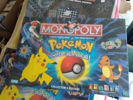 Pokemon Monopoly Collector's Edition - 1999 Hasbro - Factory Sealed read... - $84.15
