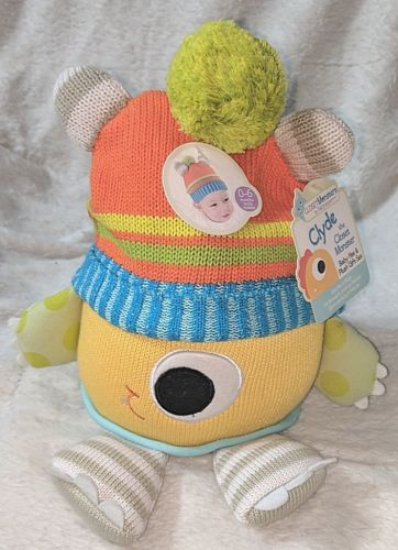 Babyaspen BA11036NA Clyde The Closet Monster Baby Hat And Plush 0 To 6 Months