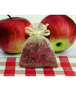 Macintosh Apple Aroma Bead Sachets (Set of 2)  GREAT In THE CAR Air Fres... - $6.00