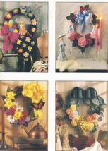 1992 Wreath Calendar Annie's Attic Crochet Pattern~RARE  - $19.99