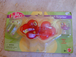 2000 Polly Pocket FRUIT SURPRISE CHERRY Scented PLAYSET DOLL Necklace MO... - $54.99