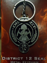 The Hunger Games District 12  Metal Keychain - $14.99