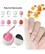 Limegirl® Polygel Nail Acrylic Poly Gel 25g Nail Primer Crystal UV LED B... - $6.67