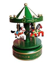 Panda Superstore Creative Wedding Gifts Cute Carousel Clockwork Musical Box