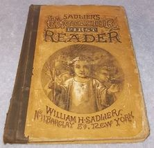 Rare Antique Sadlier's Excelsior First Reader Catholic Childs Text Book ... - $149.95
