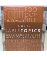 TableTopics Foodie Card Game - $17.88