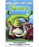 Shrek (VHS Video)  - $3.95