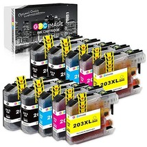 GPC Image Compatible Ink Cartridge Replacement for Brother LC203XL LC203... - $31.47