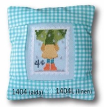 April 4 cent Special Delivery Postage Stamp pillow cross stitch kit Pine Mtn  - $16.20