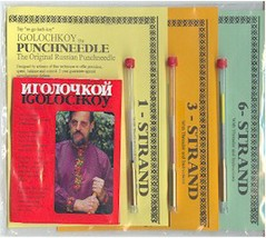 Igolochkoy Russian Punch Needle Combo Set (1ply, 3ply, 6ply) tools  - $48.00