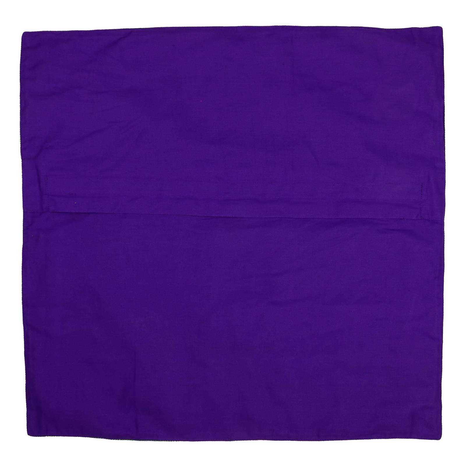 Indian Decorative Silk Cushion Pillow Covers 24 X 24 Sofa  : cushioncoversvioletblue24x241 from www.bonanza.com size 1600 x 1600 jpeg 70kB