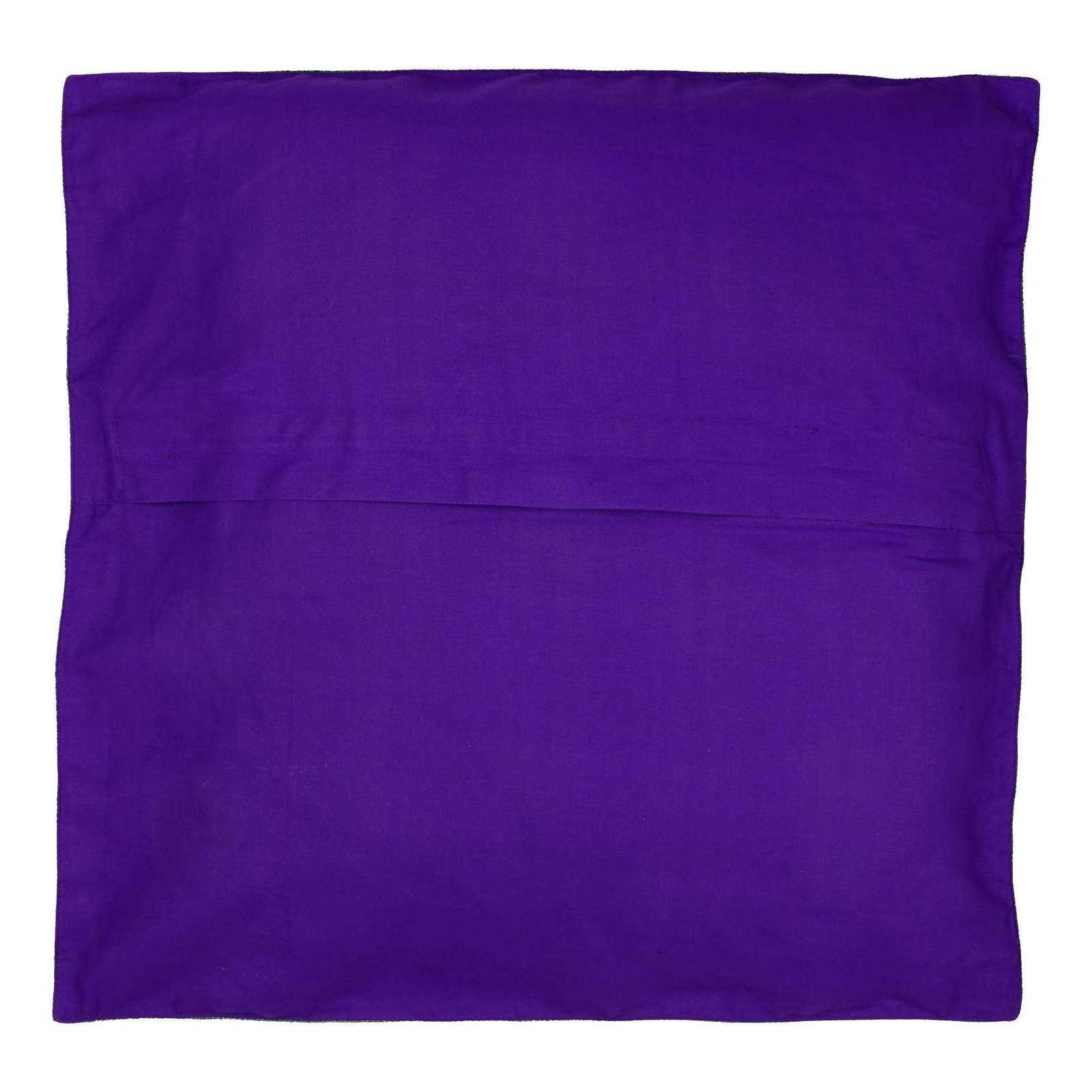 Indian Decorative Silk Cushion Pillow Covers 24 X 24 Sofa  : cushioncoversvioletblue24x241 from www.bonanza.com size 1600 x 1600 jpeg 67kB