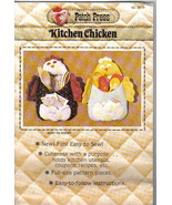 Patch Press 331B Pattern Kitchen Chicken Rooster organizer home decor do... - $7.77