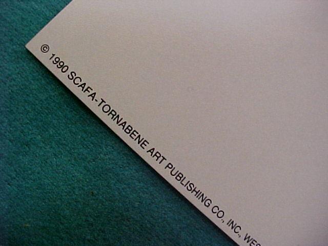 """""""POTTY TIME"""" 8x10 Scafa Art Publishing West Nyack NY Print"""