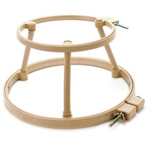"Morgan Lap Stand Combo 7"" and 10"" Hoops punch needle cross stitch access... - $47.70"