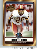 2008 Topps Hall of Fame Darrell Green - $1.00