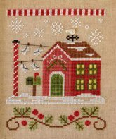 North Pole Post Office Release #3 cross stitch Country Cottage Needleworks