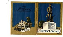 Historic Concord (1924) John Hancock Mutual Life Insurance Co. - $3.25
