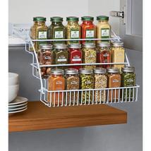 Spice Racks For Kitchen Cabinets Cupboard Tiered Shelf Jars Organizer Ho... - €19,23 EUR