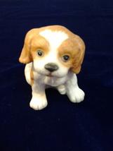 "Homco Ceramic Firgurine Dog  #1407, 3"" Tall, 3.5"" Wide - $4.99"