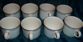 Retired Lenox Chinastone Blue Pinstripes Cups /... - $23.81