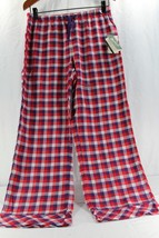 Woolrich Pemberton Lounge Pant M Women's Sleepwear Red/Purple Plaid Relaxed NWT - $24.99