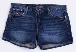 Ralph Lauren Sport Blue Distressed Denim Shorts Women's NWT - $52.49