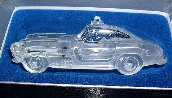 Mercedes Car Pure Crystal Mikasa Germany MIB