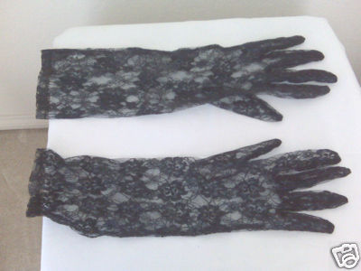 Elegant Evening Gloves For The Ladies