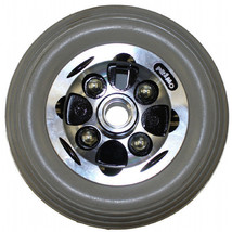 """7 x 2"""" Alloy Two Piece Caster Wheels (Pair) - $73.80"""