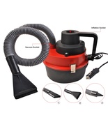 Auto Car Vacuum Cleaner Portable Wet / Dry DC 12 Volt Mini High Power RED - $19.81