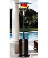 Black Outdoor Patio Heater Propane LP Gas Garden Deck Commercial Restaur... - $114.95