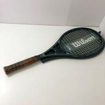 Vintage Wilson Sting PWS Graphite Midsize Tennis Racket W/Case 4 5/8 Grip - $30.56