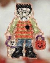 Monster Mash Autumn Harvest Series 2014 seasonal beaded ornament kit Mill Hill - $6.30